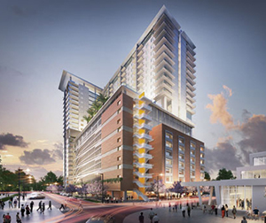 Florida East Coast's West Palm Beach station will be home to 275 rental units