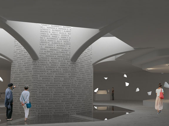A museum and library are among the interior plans for the statue.