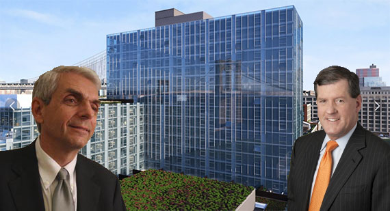 Carl Galioto and Bob Lieber with 60 Water Street