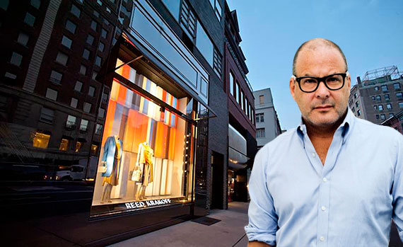 Reed Krakoff and his store at 831 Madison Avenue
