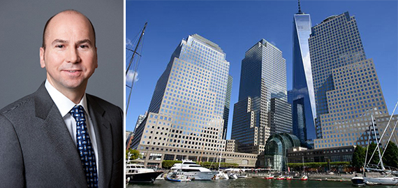 Dennis Friedrich and Brookfield Place in the Financial District