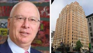 From left: Chaim Katzman and 161 West 16th Street