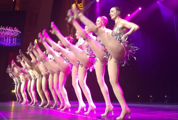 The Radio City Rockettes performed at Douglas Ellimans annual awards ceremony