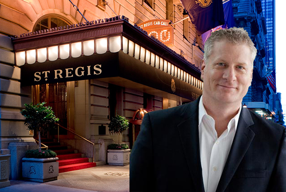 The St Regis Hotel In Midtown And Starwood S Tom Mangas