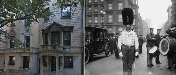 307 W 91st Street and a member of the Old Guard