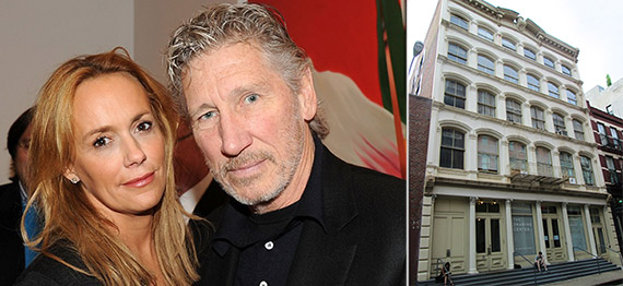 Roger Waters and wife Laurie Durning at 35