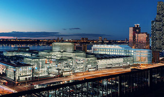 Rendering of the Jacob Javits Center expansion