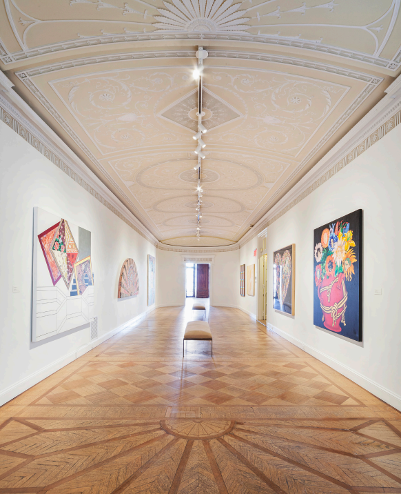 An interior shot of the gallery
