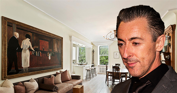 The actor is listing his home at 404 East 9th Street for $2.2 million (credit: Gordon Correll)