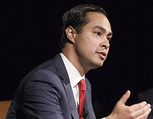 Housing and Urban Development secretary Julian Castro