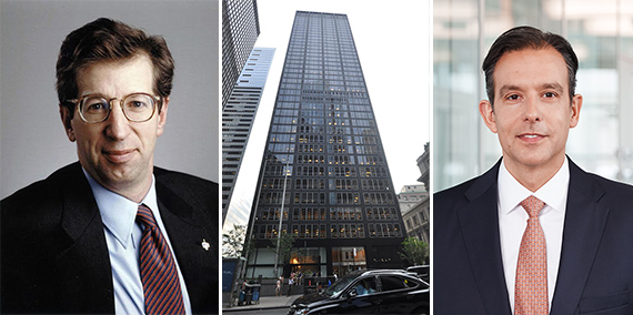 From left: Bill Rudin, One Battery Park Plaza and Allianz's Christoph Donner