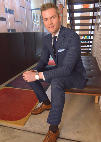 Ryan Serhant (Photo by Tobias Truvillion)