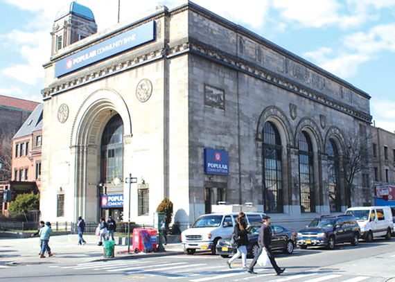 The East New York Savings Bank Building in Brooklyn was voted as a landmark in March.