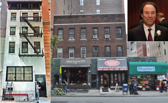 From left: 116 Seventh Avenue and 204 West 17th Street (inset: Gary Barnett)