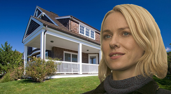 Naomi Watts and her new Montauk pad at 93 Surfside Avenue