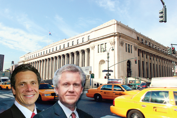 Andrew Cuomo, G.E.'s Jeffrey Immelt and
