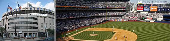 Yankee Stadium in the Bronx