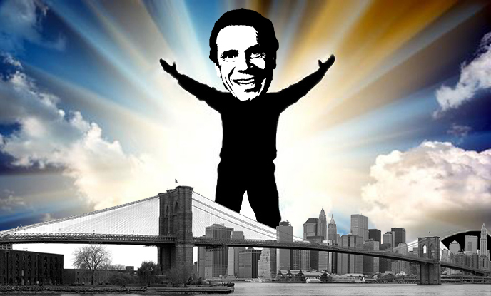Andrew Cuomo (illustration by Lexi Pilgrim for The Real Deal)