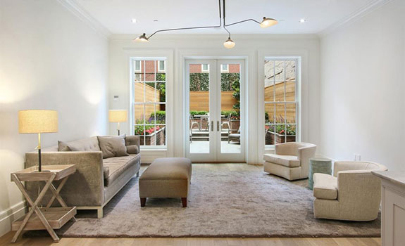 The offending furniture at 46 East 82nd Street