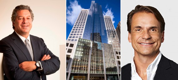 SL Green's Marc Holliday, 1745 Broadway in Midtown and Random House's Markus Dohle