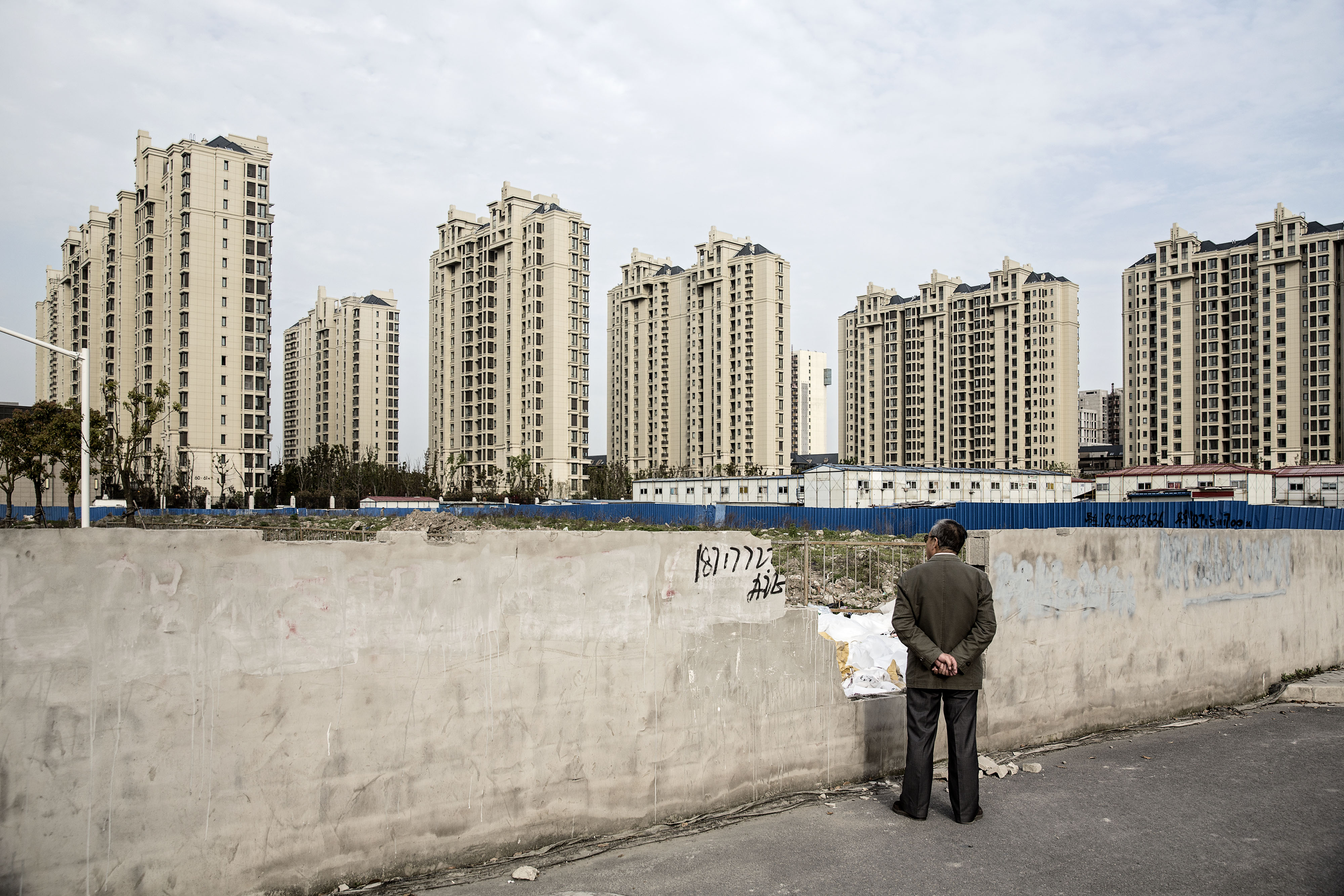 Residential buildings in the Jiading district of Shanghai (credit: Getty images)
