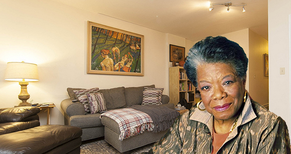 29 East 129th Street (Inset: Maya Angelou)