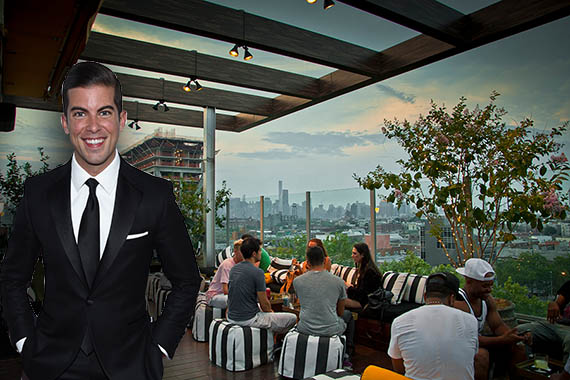Luis D. Ortiz (credit: Getty) and the McCarren Hotel (credit: McCarren)