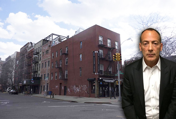 The East Village Tavern at 158 Avenue C and Steve Croman