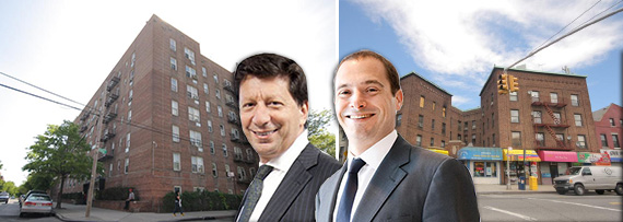 From left: 93-35 Lamont Avenue, Daniel Benedict, Douglas Eisenberg and 43-43 91st Place