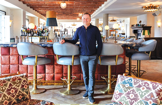 Nick Jones The Founder Of Soho House In Clubs New Barcelona Location