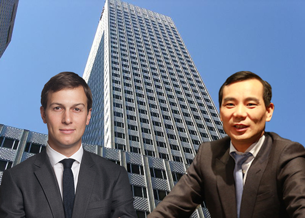 Kushners to make $400M from Chinese firm in real estate deal