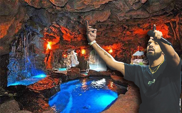 Drake and his grotto (credit: Wiki Commons)
