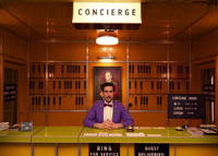 """A still from the """"Grand Budapest Hotel"""" by Wes Anderson"""