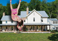 Miley Cyrus and Her Nashville house (credit Instagram and Zillow)