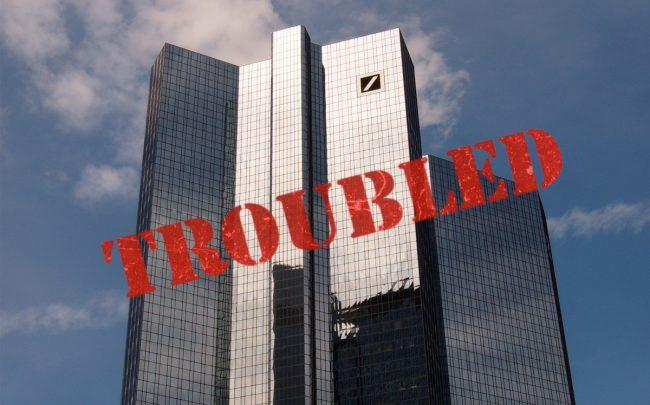 Shares of Deutsche Bank fall on report of Fed downgrade