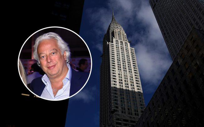 The Chrysler Building at  405 Lexington Avenue and RFR Holding's Aby Rosen (Credit: Getty Images)