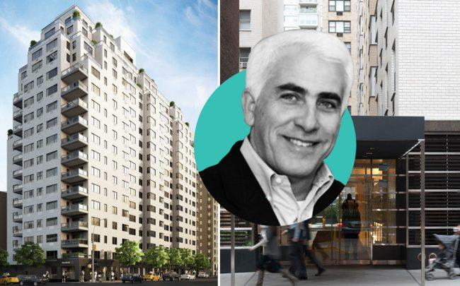 CIM Group founder Shaul Kuba and 165 East 66th Street (Credit: CityRealty)