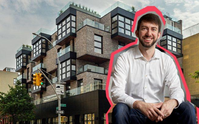 Common Founder & CEO Brad Hargreaves and 207 South 3rd Street (Credit: Francesco Sapienza)