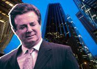 Paul Manafort and Trump Tower at 725 5th Avenue (Credit: Getty Images)