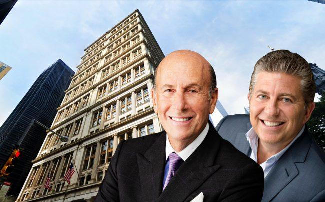 195 Broadway and L&L Holding's David Levinson and Robert Lapidus (Credit: Google Maps and L&L Holding)