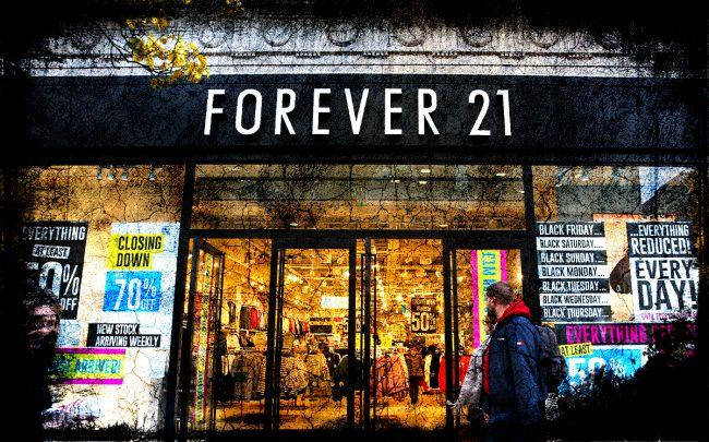 Forever 21 cancels auction (Credit: Getty Images)