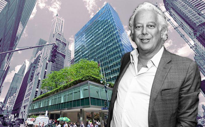 Aby Rosen and Lever House at 390 Park Avenue (Credit: Getty Images, Google Maps)