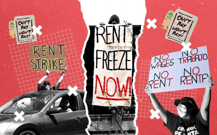 """As the """"cancel rent"""" movement gains traction from New York to Kansas City, property owners are organizing and counteracting."""