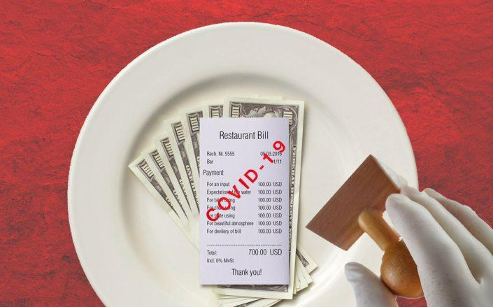 Officials will consider measures to temporarily allow restaurants to increase individual customers' accounts by up to 10 percent.  (iStock)