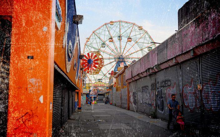 After a lost summer, Coney Island businesses are struggling to imagine how to survive the winter. (Getty)