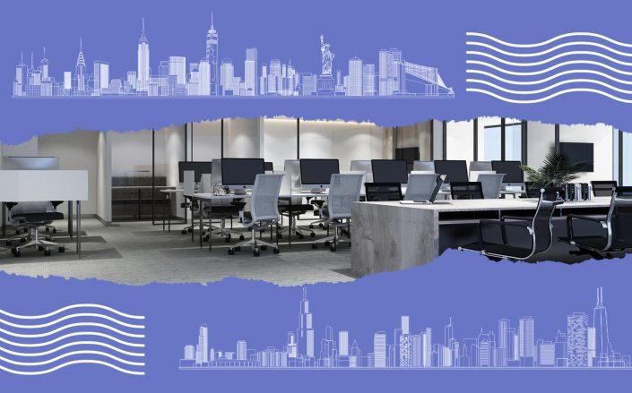 While some cities are seeing as many as 40% of employees return to the office, New York's number is one-third of that (iStock)