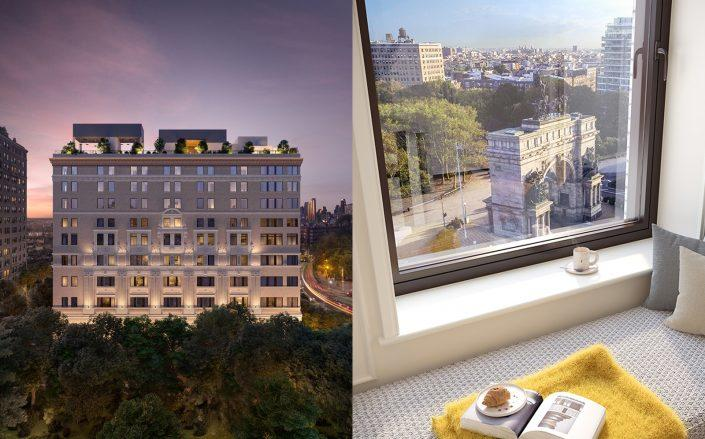 The two most expensive contracts signed last week were apartments in One Prospect Park West.  (Douglas Elliman)