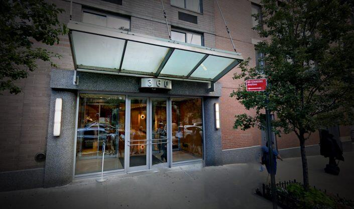 360 West 43rd Street Attack Site (Google Maps)
