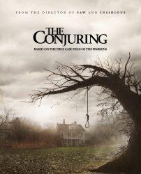 Movie poster for The Conjuring (New Line Cinema)