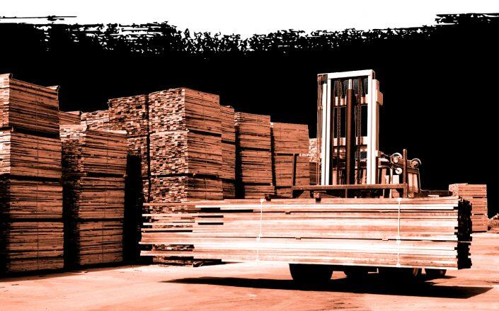 For the first time this year, homebuilders received a respite from rising materials costs, driven by a drop in softwood lumber. (iStock)